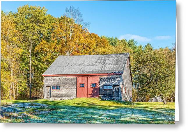 Frosty Morning Greeting Card by Tim Sullivan