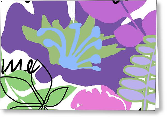 Frou Frou II Greeting Card by Mindy Sommers