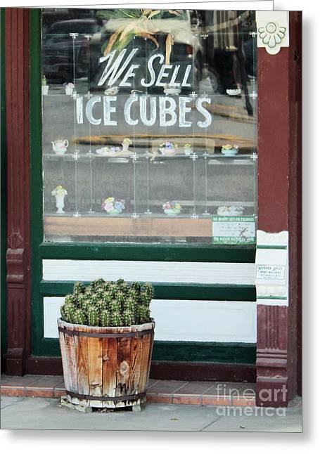 Humorous Greeting Cards Photographs Greeting Cards - Frozen Treats Greeting Card by Joe Jake Pratt