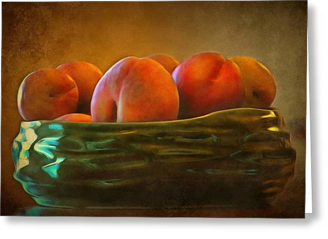 Fruit In A Bowl Greeting Card by Patricia Strand