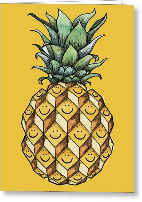 Fruitful Greeting Card by Kelly Jade King