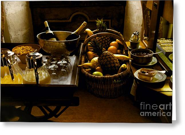 Fruits Of France Greeting Card by Madeline Ellis