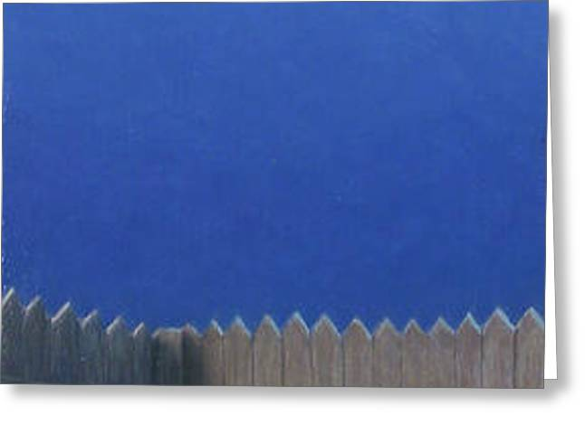 Full Moon Greeting Card by James W Johnson