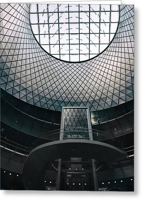 Fulton Center Greeting Card by Jessica Jenney