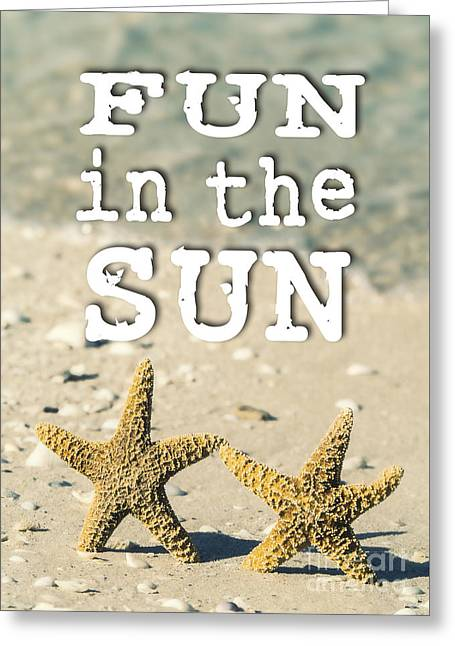 Fun In The Sun Greeting Card by Edward Fielding