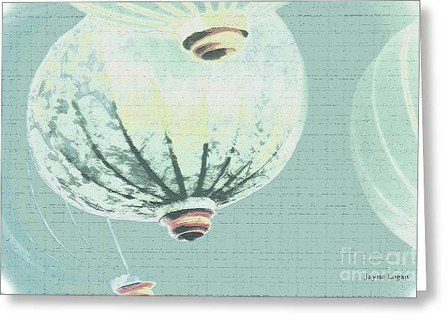 Artography Greeting Cards - Funky Onions Greeting Card by Jayne Logan Intveld