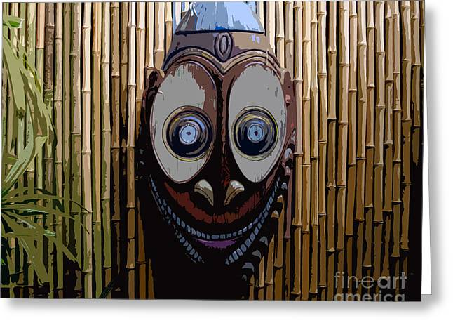 Funny Face Greeting Cards - Funny Face Greeting Card by David Lee Thompson