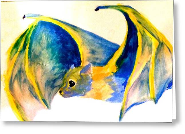 Amazing Pastels Greeting Cards - Fur flight Greeting Card by Rachel  Jones