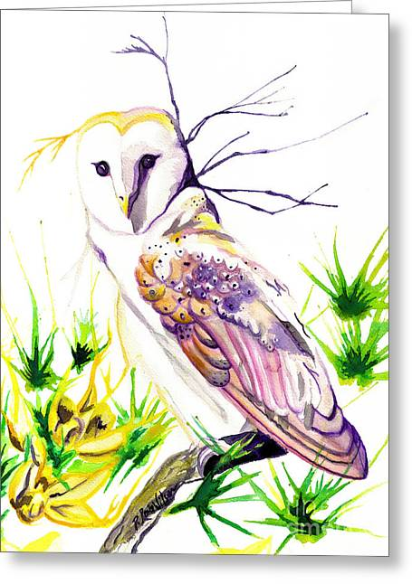 Loose Greeting Cards - Furze Wisdom Greeting Card by D Renee Wilson