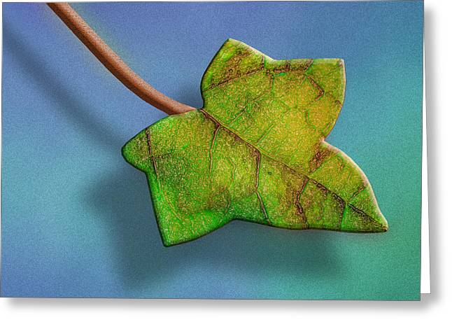 Fused With Nature Greeting Card by Paul Wear