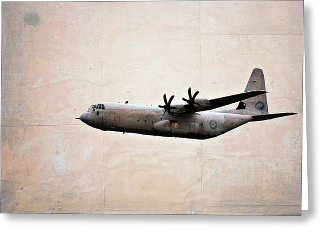 Military Airplanes Greeting Cards - Fuselage Mirror Greeting Card by Douglas Barnard