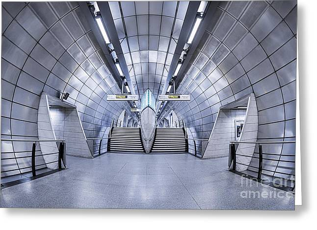London Structure Greeting Cards - Futurism Greeting Card by Evelina Kremsdorf