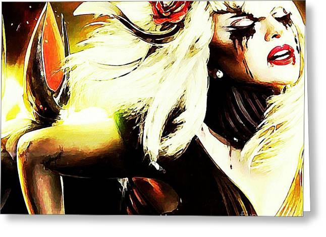 Gaga Phantasm  Greeting Card by John Malone
