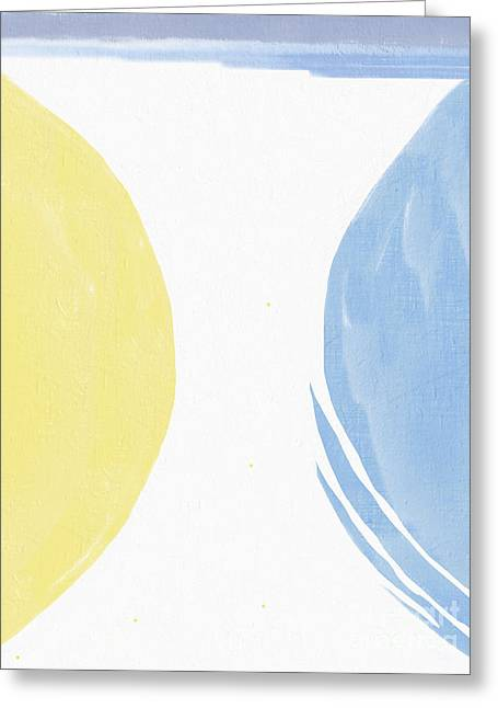 Abstract Expression Greeting Cards - Galactic Visions no.4 Greeting Card by Violeta Bocage