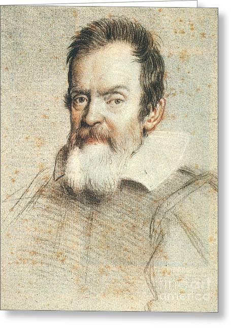 Galileo Greeting Cards - Galileo Galilei Greeting Card by Granger