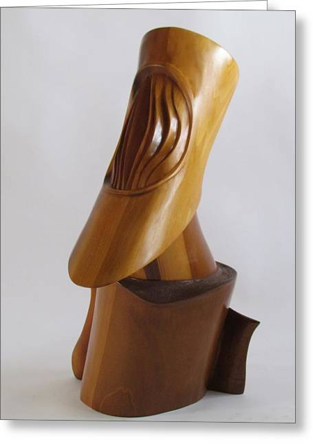 Creating Sculptures Greeting Cards - Galileo Greeting Card by Michael Semsch