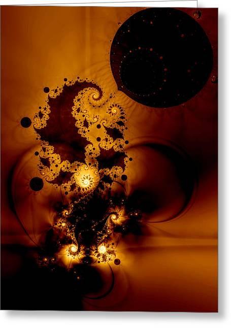 Galileo Greeting Cards - Galileos Muse Greeting Card by Casey Kotas