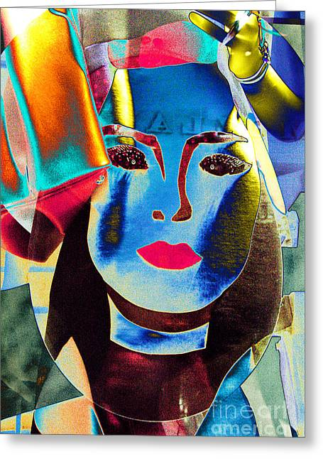 Abstractions Greeting Cards - Galleria Mannequin Greeting Card by Thomas Carroll