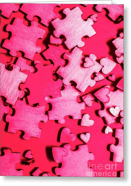 Game Of Romance Greeting Card by Jorgo Photography - Wall Art Gallery