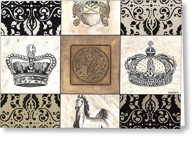 Mare Greeting Cards - Game of Thrones Greeting Card by Debbie DeWitt