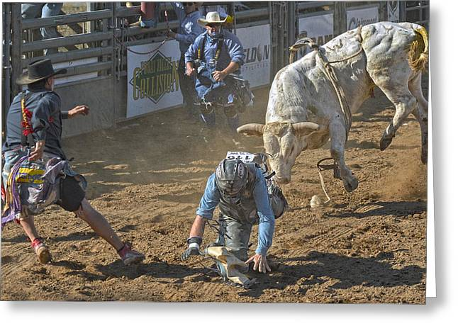 Rodeo Greeting Cards - Game On! Greeting Card by Kirk Cypel