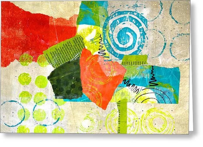 Garden Greeting Card by Nancy Merkle