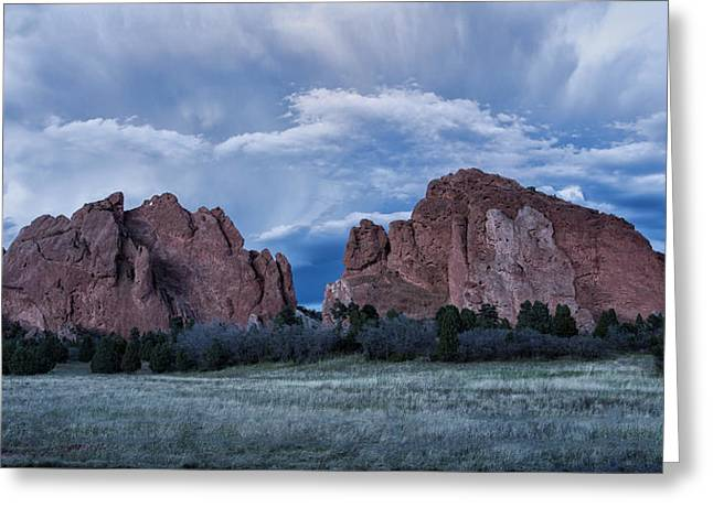 Geology Photographs Greeting Cards - Garden Of The Gods 5 Greeting Card by Alan Kepler