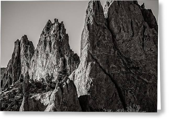 Creative Photography Pictures Greeting Cards - Garden of the Gods Greeting Card by Charles Dobbs
