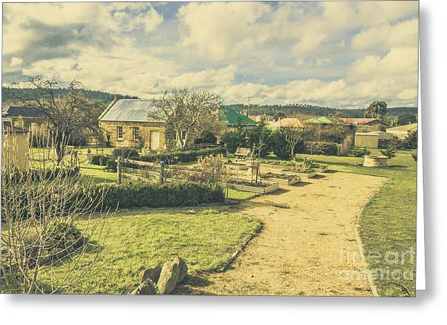 Garden Paths And Courtyards Greeting Card by Jorgo Photography - Wall Art Gallery