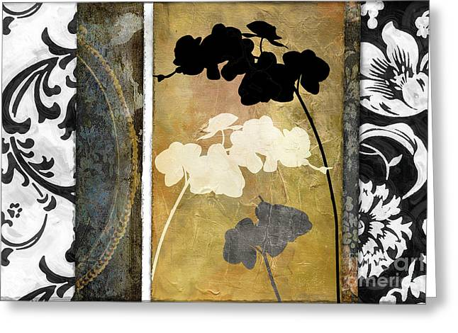 Flowers Prints Greeting Cards - Gardenscape II Greeting Card by Mindy Sommers