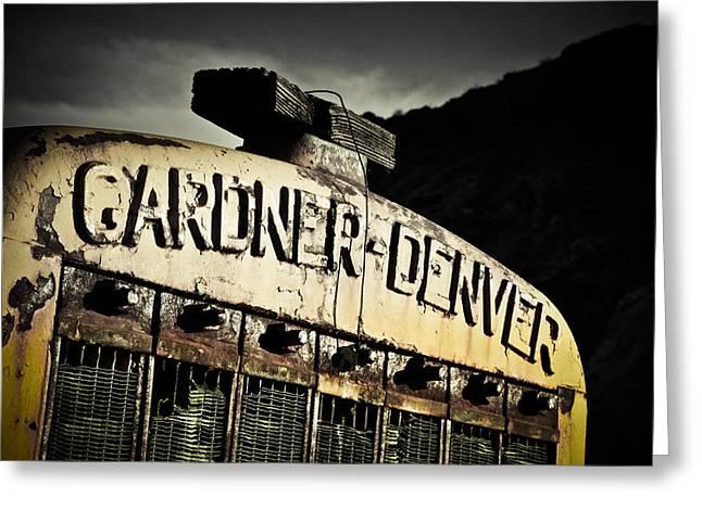 Gardner Denver Greeting Card by Merrick Imagery