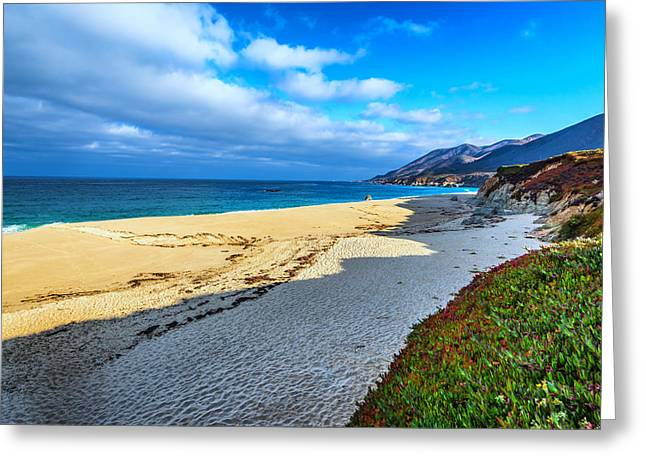 Big Sur Beach Greeting Cards - Garrapata State Beach Greeting Card by Joseph S Giacalone
