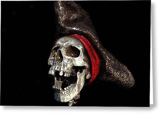 Recently Sold -  - Ghostly Greeting Cards - Gasparilla 2012 Greeting Card by David Lee Thompson