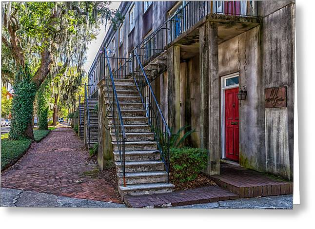 Gaston Greeting Cards - Gaston Street Greeting Card by A Different Brian Photography