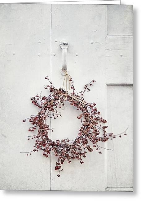 Gate And Garden Greeting Card by Lisa Russo