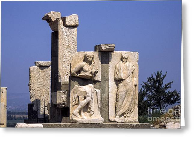 Domitian Greeting Cards - Gate of Heracles  Greeting Card by Bob Phillips