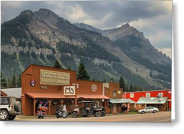 Cooke Greeting Cards - Gateway To Yellowstone National Park Greeting Card by Adam Jewell