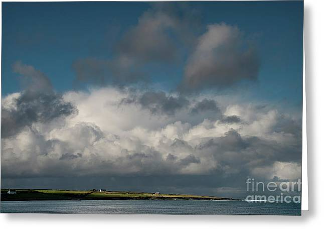 Ireland Photographs Greeting Cards - Gathering clouds Greeting Card by Marion Galt