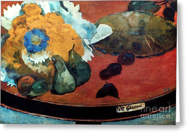 GAUGUIN: FETE GLOANEC, 1888 Greeting Card by Granger