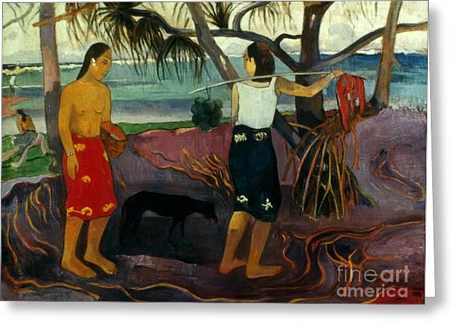 1891 Greeting Cards - Gauguin: Pandanus, 1891 Greeting Card by Granger