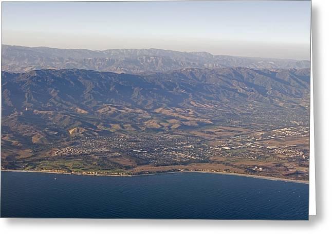 Gaviota Greeting Cards - Gaviota Coast And The Santa Ynez Greeting Card by Rich Reid