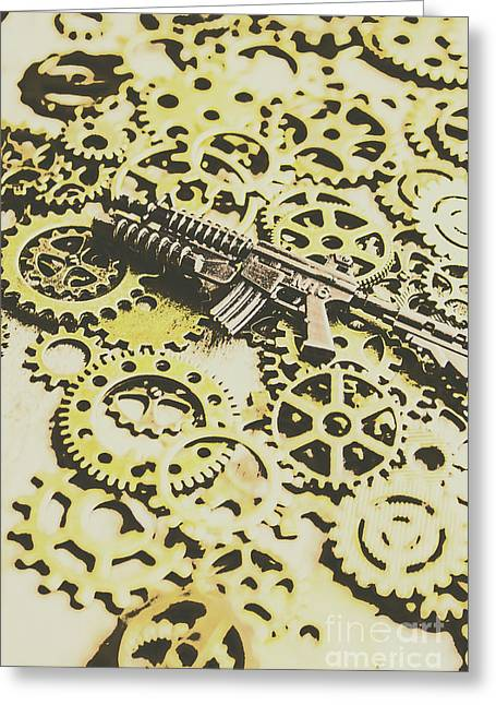 Gears Of War Greeting Card by Jorgo Photography - Wall Art Gallery
