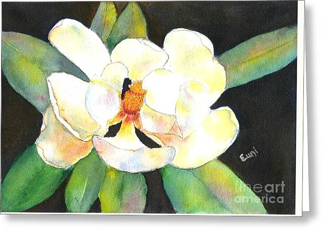 Tangerine Greeting Cards - Gem of the South Greeting Card by Eunice Warfel