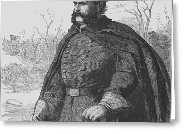 General Ambrose Burnside Greeting Card by War Is Hell Store