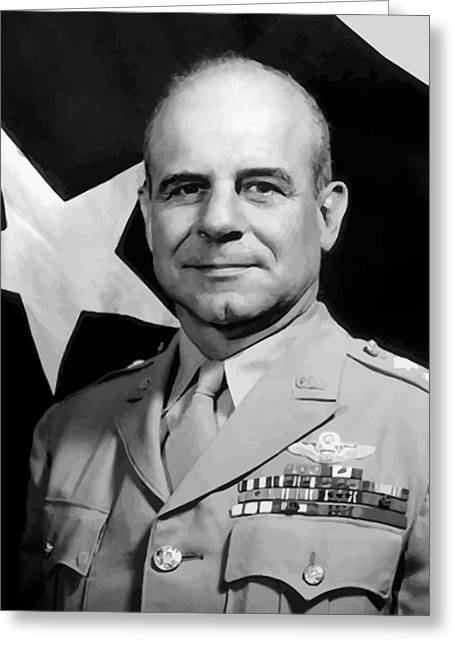 Air Raids Greeting Cards - General Doolittle Greeting Card by War Is Hell Store