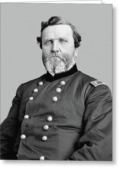 The North Digital Art Greeting Cards - General George Thomas Greeting Card by War Is Hell Store