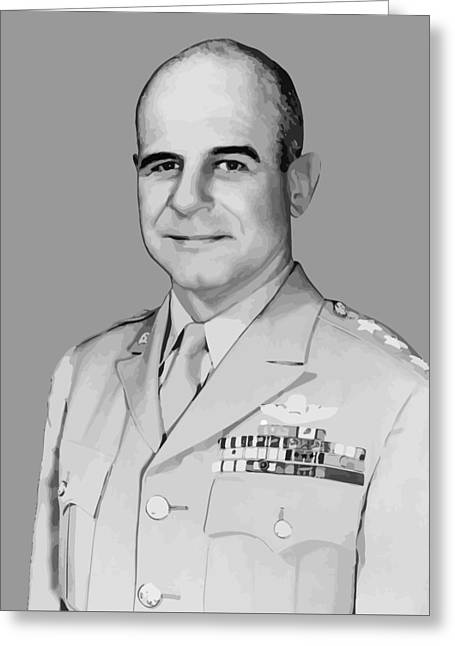 Aviator Greeting Cards - General James Doolittle Greeting Card by War Is Hell Store