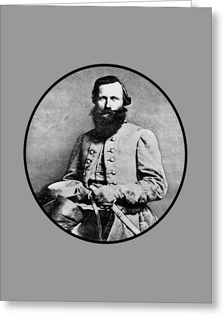Rebel Greeting Cards - General JEB Stuart Greeting Card by War Is Hell Store