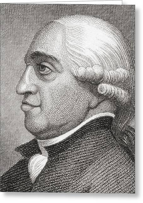 General John Burgoyne, 1722 To 1792 Greeting Card by Vintage Design Pics