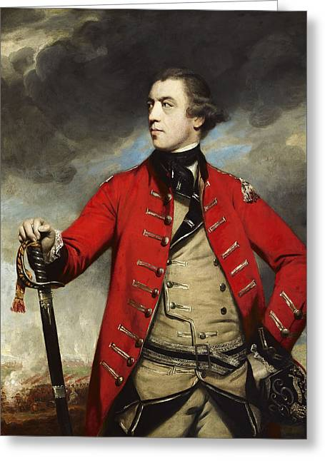 General John Burgoyne Greeting Card by Mountain Dreams